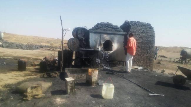 شرطة حماية البيئة تضبط مصنعاً عشوائياً لصهر الرصاص شمال بحري