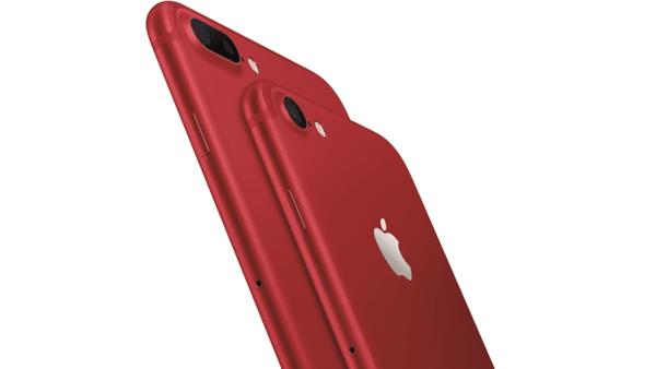 ايفون احمر 1