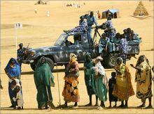إطلاق نار كثيف بين الشرطة ومسلحين بنيالا