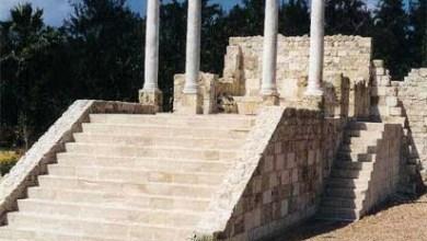 Photo of معبد الراس السوداء – يرجع بناؤه لآواخر القرن الثانى واوائل القرن الثالث الميلادى ويضم بهو المعبد تماثيل ايزيس واوزوريس وفاربوكراتيس