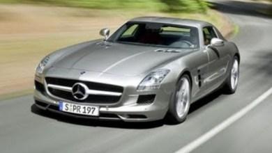 Photo of مرسيدس بنز ايه ام جي Mercedes-Benz-SLS-AMG