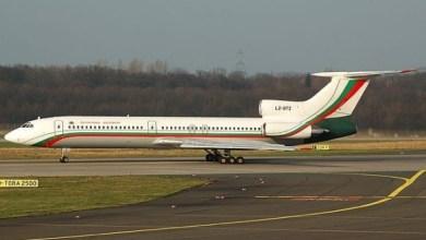 Photo of طائرة الرئاسة البلغارية