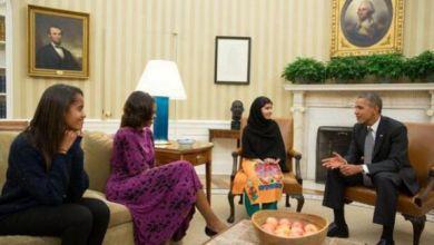 Photo of ملالا تلتقي اوباما في البيت الأبيض – العربية نت