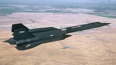 Photo of الطائرة الحربية الامريكية Lockheed SR-71A Blackbird