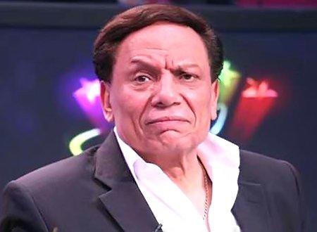 القذافي حاول اغتيال عادل امام لأنه يقلده