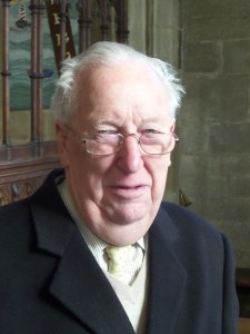 Photograph of Rev'd Canon Dennis Winter