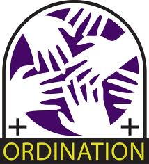 """image of hands with the word """"ordination"""" underneath"""