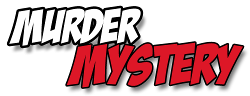 Text saying Murder Mystery