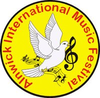The logo of Alnwick International Music Festival