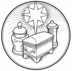 Representation of the gifts of the magi