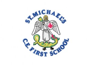 St Michael's First School Logo