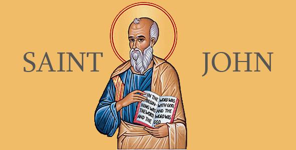 An Orthodox icon depicting St John