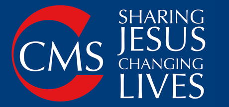 "Logo with ""CMS: Sharing Jesus; Changing Lives"" written on it"