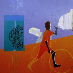 46Untitled-Boy-playing-with-wheel-Acrylic-on-Canvas-152.3-x-152.3-cm-2005