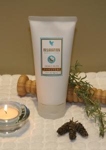 Relaksujący balsam do masażu