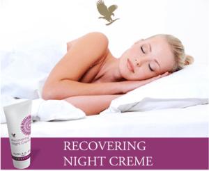 Aloesowy krem odżywczy na noc Recovering Night Creme