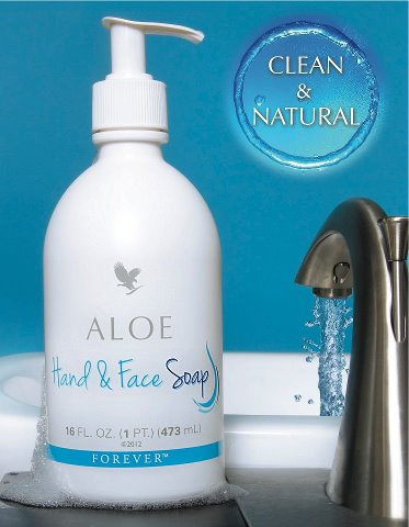 Forever aloe liquid soap
