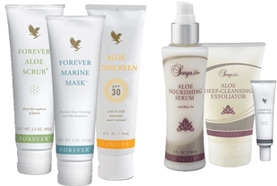 Skin Whitening Tips with Forever Living Aloe Products