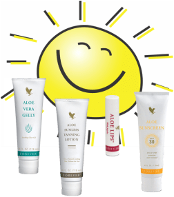 Aloe Sun Care Products