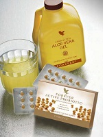 Aloe Vera gel and Probiotic