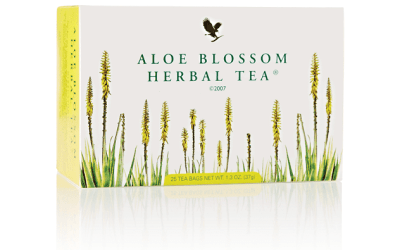Aloe Blossom Herbal Tea – tisana Forever