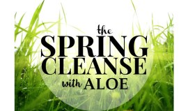 The Spring Cleanse with Aloe