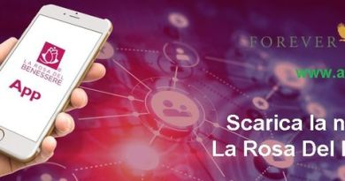 App La Rosa Del Benessere - Evidenza