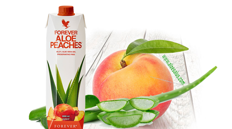 FOREVER ALOE PEACHES ALOE ALLA PESCA BENEFICI