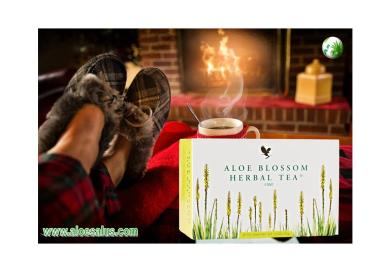 Aloe Blossom Herbal Tea la Tisana Forever