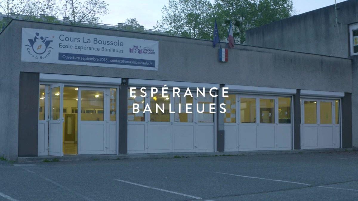 Fondation Bettencourt-Schueller – Espérance Banlieues