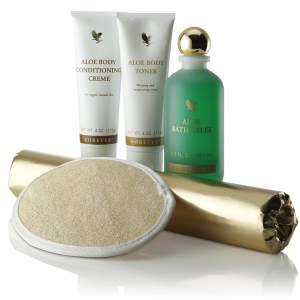 Aloe toning kit
