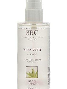 SBC Aloe Vera Spritz Spray 100ml tamaño de viaje