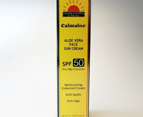 Canarias Cosmetics Aloe Vera Loción solar facial SPF 50. 50ml