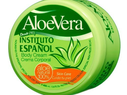 Instituto Español – Tarro Crema Aloe-Vera 400 ml
