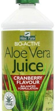Optima Health Aloe Vera Juice Cranberry Max Strength, 1ltr