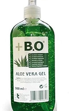 + B.O gel Aloe Vera botella 500 ml + dispensador