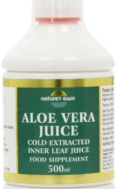 Natures Own 500ml Aloe Vera Inner Leaf Juice