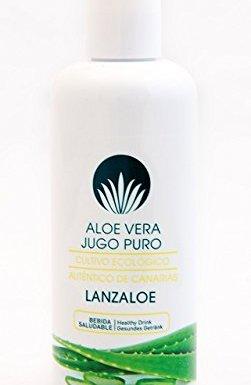 Lanzaloe jugo 100% puro de Aloe Vera 250ml