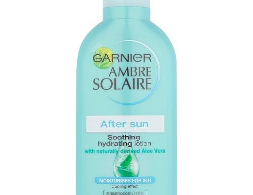 Garnier Ambre Solaire After Sun Calmante y Loción Hidratante con Aloe Vera natural derivado 200ml