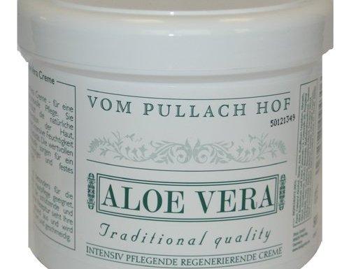 Aloe Vera Crema 500ml de Pullach Hof para sofisticado Cuidado, soportan la natural Regeneración el Piel