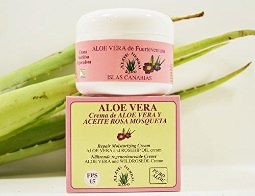 Aloe Herbal 2300 Crema de Aloe Vera y Aceite Rosa Mosqueta 200ml