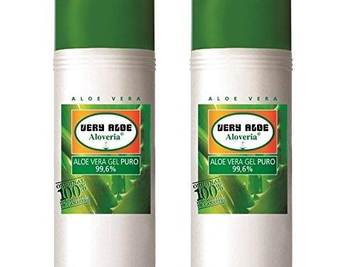 Aloveria Gel puro 99.6% Aloe Vera 250ml x 2uds