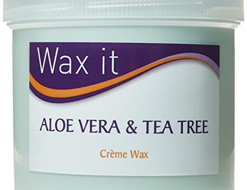 Wax It 450g Aloe Vera and Tea Tree Cream Wax by Wax It