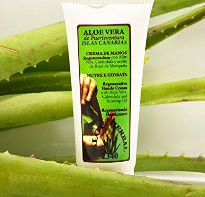 Aloe Herbal 2340 Crema de manos de Aloe Vera 100ml
