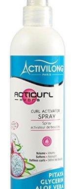 Activilong Acticurl Curl Activator Control Spray Organic Aloe Vera and Plant Glycerine 250 ml by Activilong