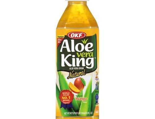 OKF–Aloe Vera Juice King (mango)–500ml x 20