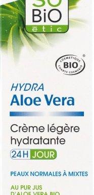 So 'Bio étic crema ligera hidratante 24h día AU Pur zumo de Aloe Vera Bio Tubo de 50ml