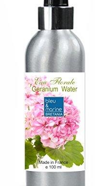 Hidrolato de Geranio 100 ml Agua Floral Spray – Tónico para Piel Grasa Piel con Imperfecciones Piel Normal Piel Madura