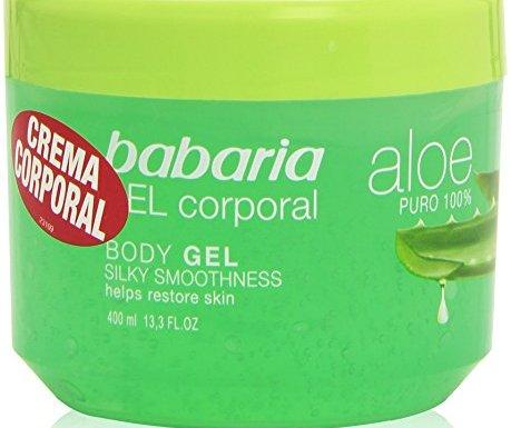 Babaria – Crema Corporal – Aloe puro – 400 ml