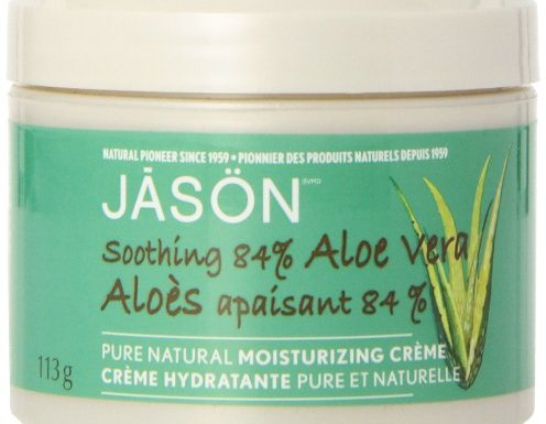 Jason Pure Natural Moisturizing Creme, Soothing 84% Aloe Vera, 4 Ounce (Pack of 3) by Jason Natural Cosmetics